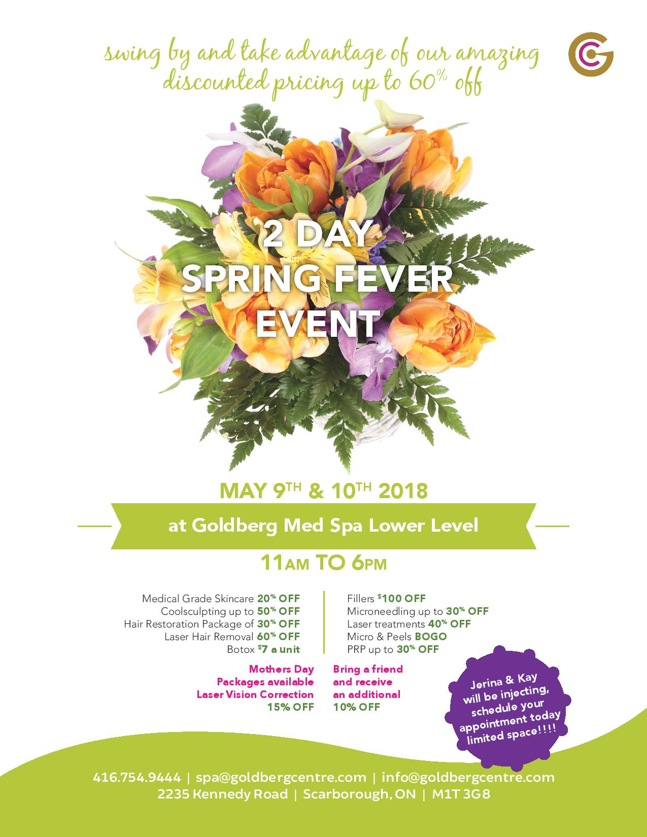 Toronto 2 Day Flash Spa Promotions!
