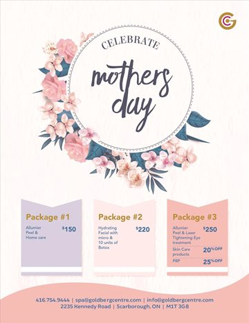 Mothers Day Promotions Toronto