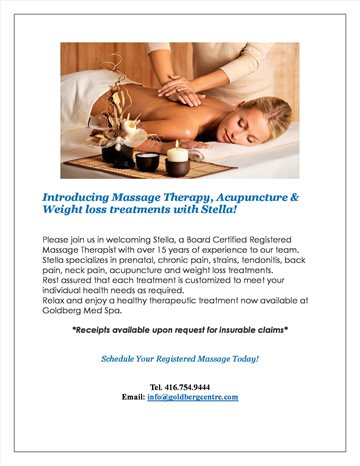 Best Massage Therapy  Acupuncture  and Weight Loss Treatments - Toronto