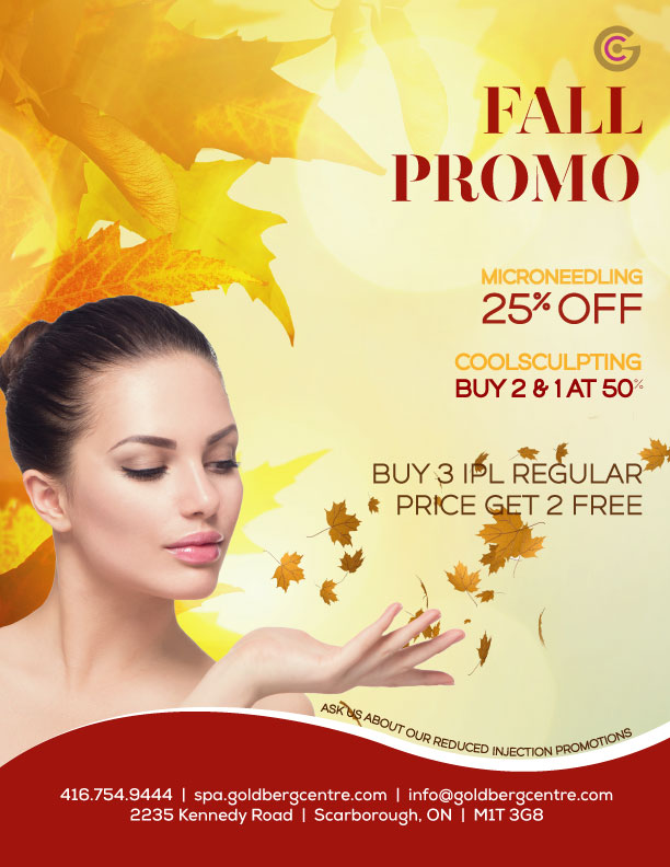 Medical Spa Promotional  Offers - Toronto