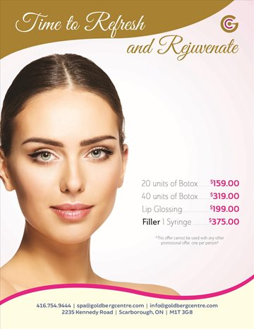 Botox  Fillers Promotion